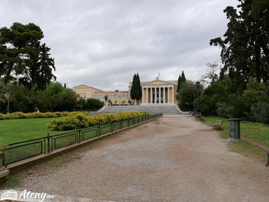 Ogrody Narodowe w Atenach - budynek Zappeion