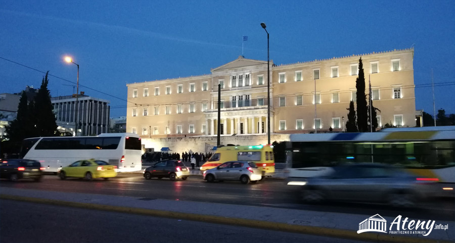 Plac Syntagma - parlament