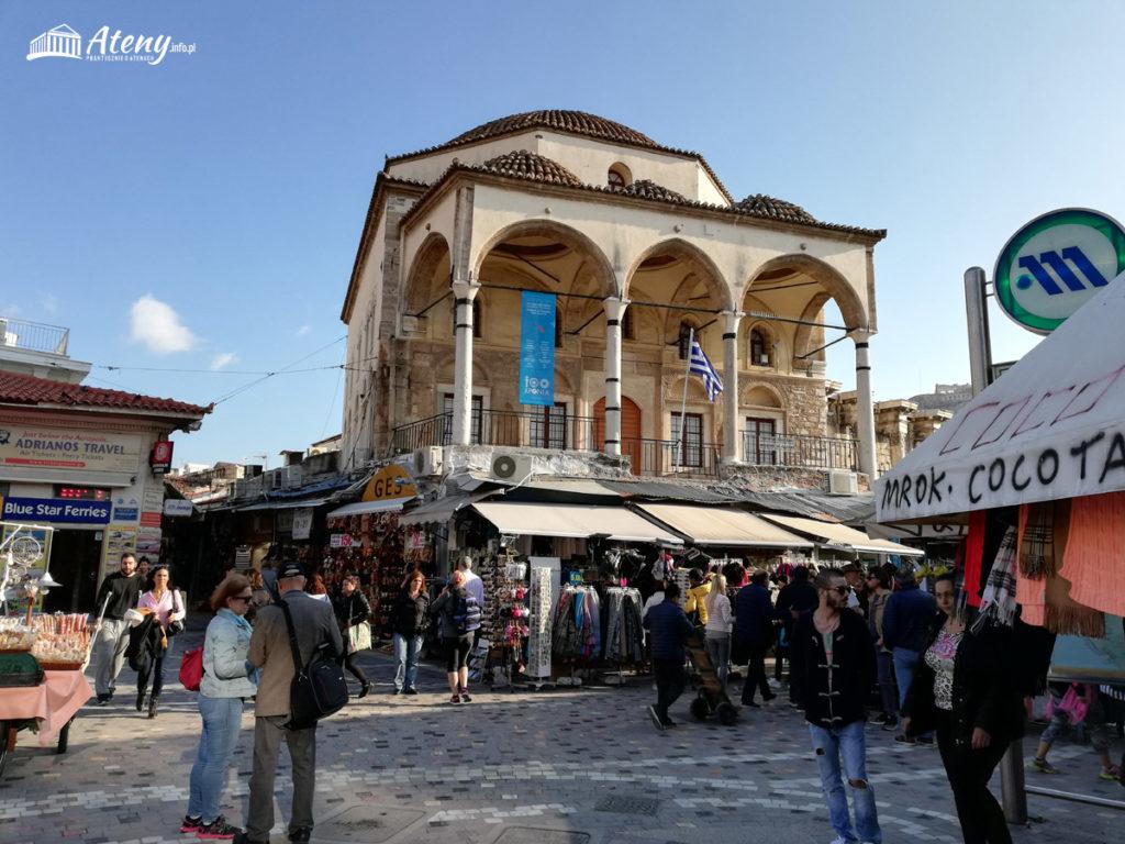 Plac Monastiraki - Meczet Tzistarakis Aga
